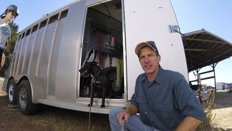 Thumbnail for entry Dog'NDoc_Saddling a horse