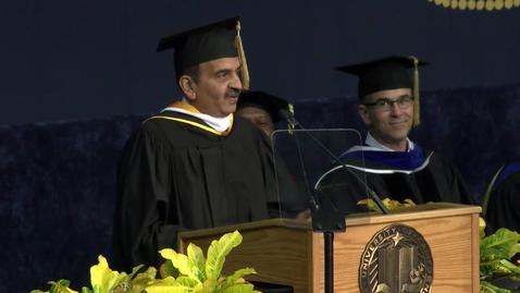 Thumbnail for entry 2017 Graduate Studies Speaker - Prem Jain
