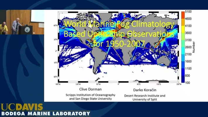 BML - Clive Dorman: World Marine Fog Climatology Based Upon Ship Observations for 1950-2007