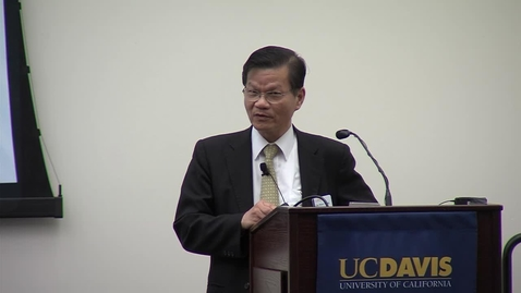 Thumbnail for entry Chi-Huey Wong-15th Annual R. Bryan Miller Symposium