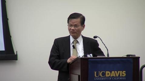 Thumbnail for entry Chi-Huey Wong-15th Annual R. Bryan Miller Symposium
