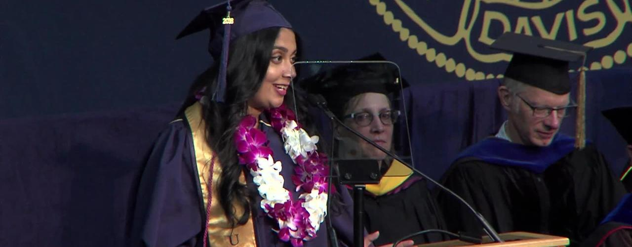 2018 College of Letters & Science Student Speaker - Anjali Bhat - June 16, 2018