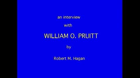 Thumbnail for entry William Pruitt