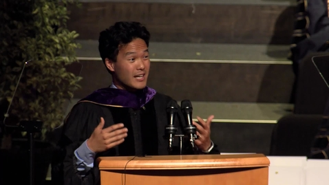 Thumbnail for entry 2019 Law Faculty Speaker - Aaron-Tang - May 18, 2019