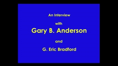 Thumbnail for entry Gary Anderson