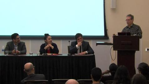 Thumbnail for entry Emerging Scholars Panel Q&A (05-03-2016)