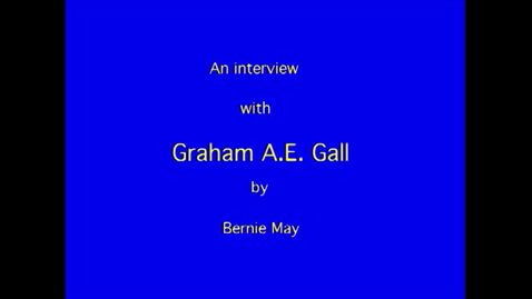 Thumbnail for entry Graham Gall