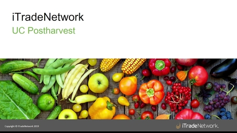 Thumbnail for entry Fresh Produce Traceability - (Varni and Enright)