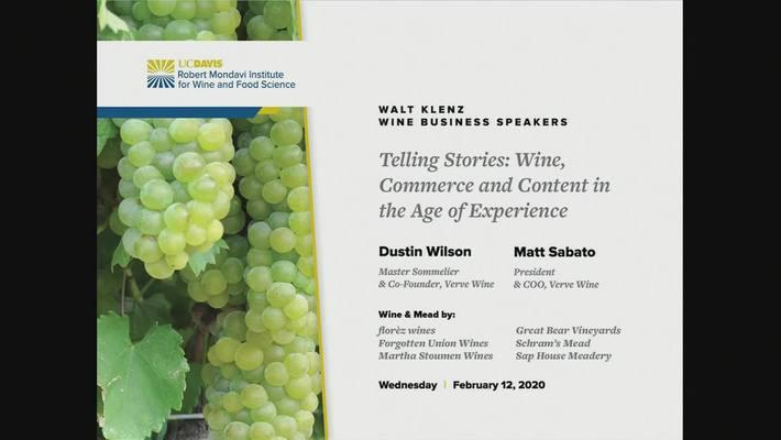 2020 Klenz Lecture - Dustin Wilson and Matt Sabato