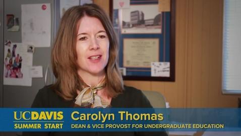 Thumbnail for entry UC Davis Summer Start for International Students