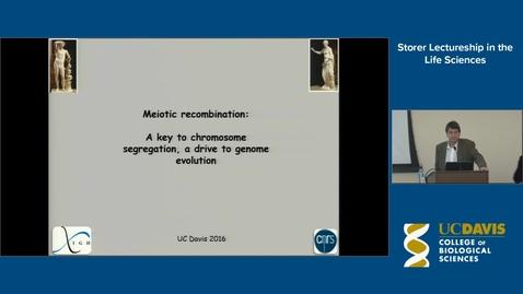 Thumbnail for entry Storer Lecture - Bernard de Massey 11-21-16