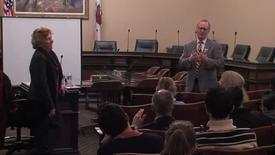 Thumbnail for entry UC Capitol Speakers Series:  Dr. Michael Lairmore and  Dr. Patricia Conrad (01-29-2016)