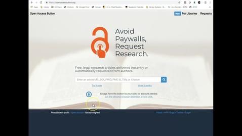 Thumbnail for entry Open Access Button