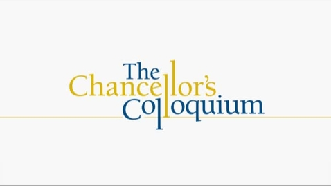 Thumbnail for entry Chancellor's Colloquium - John Seely Brown (10-28-2015)