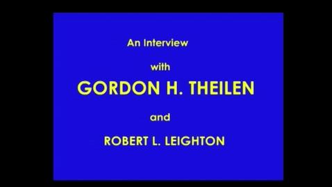 Thumbnail for entry Gordon Theilen