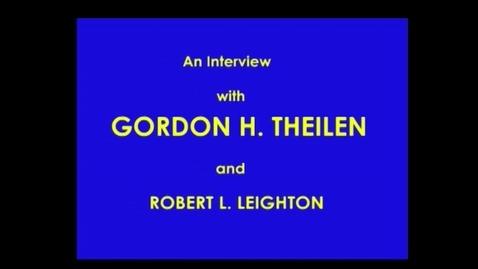 Thumbnail for entry Gordon Theilen