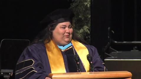Thumbnail for entry 2016 School of Education Student Speaker Denise Tambasco