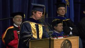 Thumbnail for entry 2016 Graduate Studies Commencement Speaker Hoby Wedler
