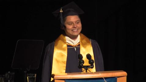 Thumbnail for entry 2019 School of Ed Student Speaker – Pedro Leon Martinez June 12 2019