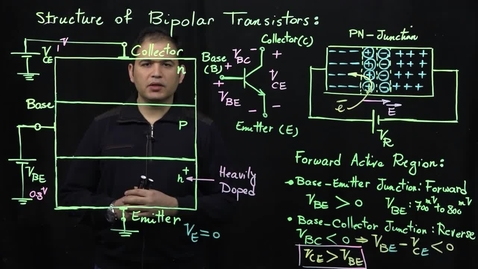 Thumbnail for entry Bipolar Transistors (Part 2: Forward Active Operation)