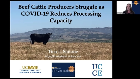 Thumbnail for entry Cattle Producers Struggle During COVID-19