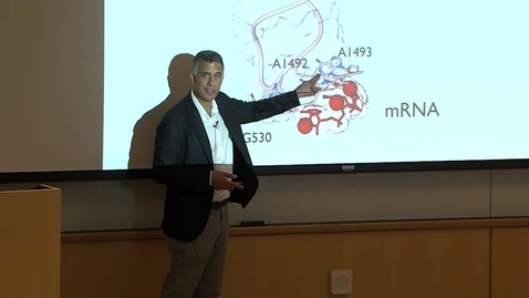 Thumbnail for entry Weaver Lecture - Jody Puglisi - April 25, 2018
