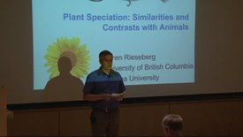Thumbnail for entry Storer Lecture Series - Loren Rieseberg 5-30-2012