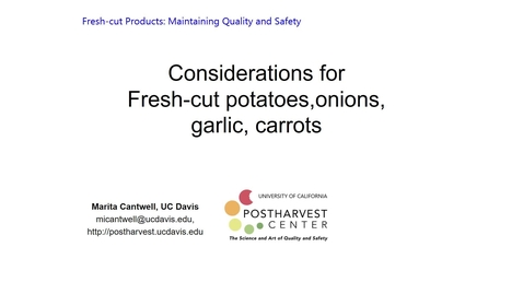 Thumbnail for entry Potatoes, Carrots, Onions and Garlic - (Cantwell)