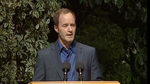 Thumbnail for entry 2011 Fall Convocation - Paul Henderson