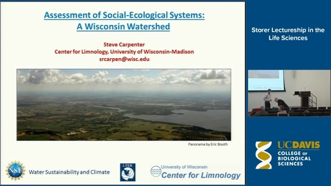 Thumbnail for entry Storer Lecture - Stephen Carpenter 3-5-14