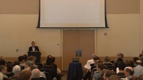 Thumbnail for entry Storer Lecture Series - Ed DeLong 10-4-2012