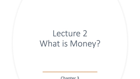 Thumbnail for entry ECN 135: Lecture 2 (Chapter 3)