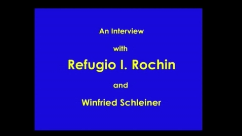 Thumbnail for entry Refugio Rochin