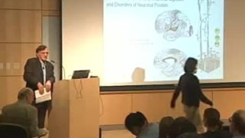 Thumbnail for entry Storer Lecture - Pasko Rakic 05-15-2007