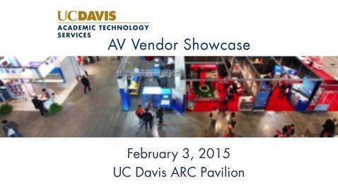 Thumbnail for entry UC Davis AV Showcase 2015 - 30 Second Promo