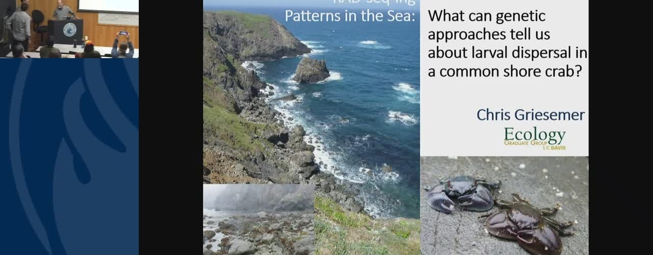 BML - Chris Griesemer: RAD-seq-ing patterns in the sea