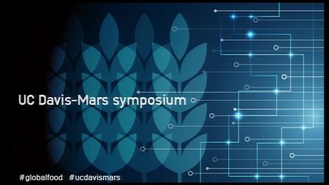 Thumbnail for entry UC Davis-Mars Symposium, Morning Session, Jan 14, 2015