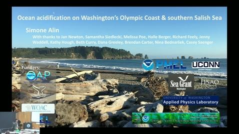 Thumbnail for entry BML - Dr. Simone Alin: Ocean Acidification on Washington's Olympic & Southern Salish Sea