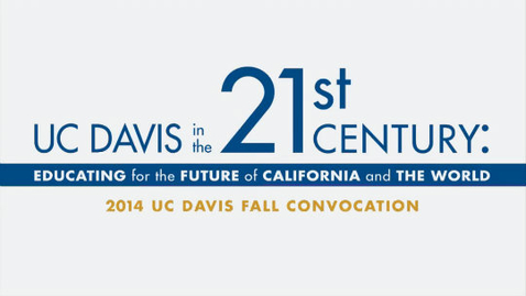 Thumbnail for entry 2014 Fall Convocation