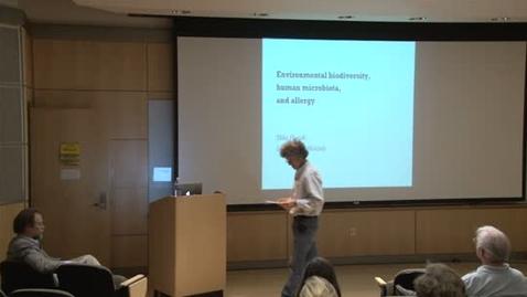Thumbnail for entry Storer Lecture Series - Ilkka Hanski 4-25-2012