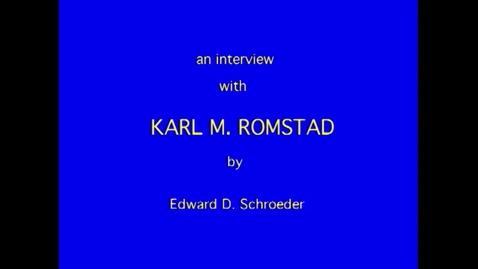 Thumbnail for entry Karl Romstad