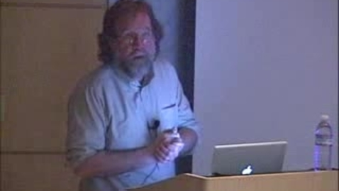 Thumbnail for entry Storer Lecture - Sean Carroll 03-24-2009