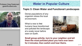 Thumbnail for entry SAS004: Clean Water and Functional Landscapes