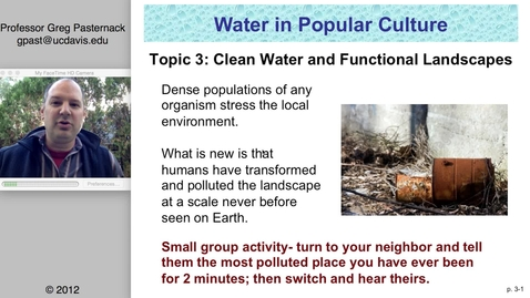 Thumbnail for entry SAS004 03: Clean Water and Functional Landscapes