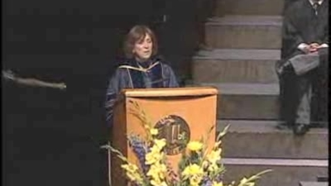 Thumbnail for entry 2009 - Pam Marrone Speaks at the UC Davis Graduate School of Management Commencement