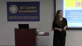 Thumbnail for entry UC Capitol Speaker Series - Mindy Romero - 08-29-2017
