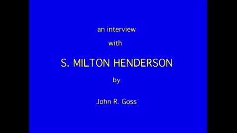 Thumbnail for entry S. Henderson
