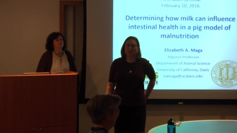 Determining how milk can influence intestinal health in a pig model of malnutrition