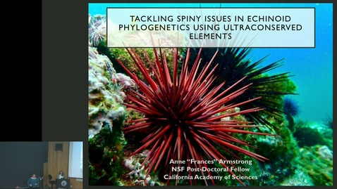 "Thumbnail for entry BML - Anne ""Frances"" Armstrong: Tackling Spiny Issues"