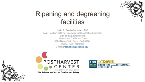 Thumbnail for entry Ripening Facilities and Equipment - (Donis-Gonzalez)